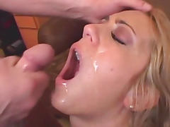 All, Clit, Cum, Cumshot, Doggystyle, Facial