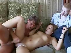 Vera craves to be impaled in front her ex boyfriend