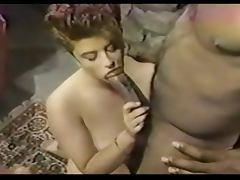 Interracial Vintage Scene