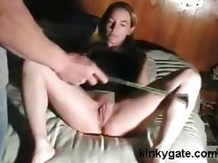 Merciless Floggging pussy my Milf Simone