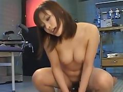 Nao Ayukawa Asian is riding a hard cock in the surgery room