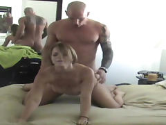 Kirra Lynn is banging with bodybuilder on the hidden cam