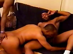 Gay Gangsta Sex Asshole Fucking Threesome