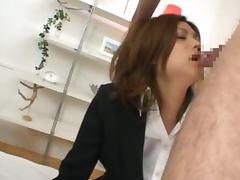 Japanese Babe Kurumi Katase Having Fun with Two Guys