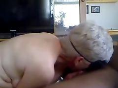White Granny ATM Black Cock