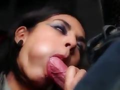 Banging, Banging, Blowjob, Stockings, Shaved Pussy, Sucking