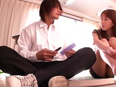 Busty Teacher Arisa Sawa Fucks A Lonely Student