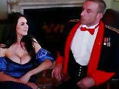 Orgasm, Big Tits, Blowjob, Fucking, Orgasm, Stockings