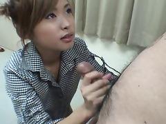 Asian Handjob Magictung