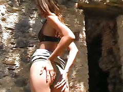 Anal french hard fucked babe