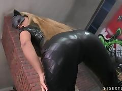 Uniform, Ass, Erotic, Horny, Leather, Pussy