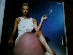 smoking babe tribute basic instinct style pic mag wank