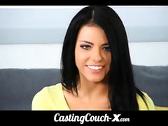 CastingCouch X adopted foster girl tries out