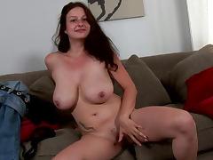 Natural, Ass, Boobs, Natural, Sofa, Solo
