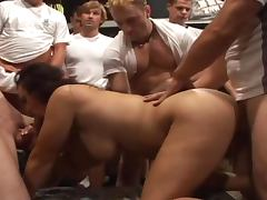 Manuella tries to satisfy many guys cuz she wanna get lots of cum