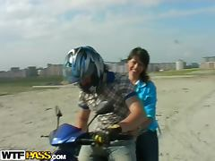 Biker, Amateur, Biker, Blowjob, Brunette, Close Up