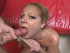 Blonde whore hardcore anal and dp