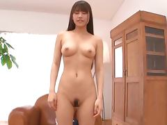 Cute ass biatch Ai Nikaidou loves fucking her man
