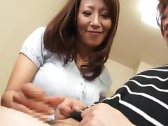 Hot mature babe in hardcore action with cum on her face