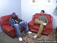 Black thug rams his dick