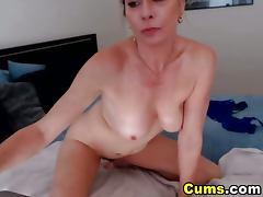 Blonde Busty MILF has Multiple Orgasms HD