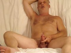 Edging and cumming with a bolt in my cock