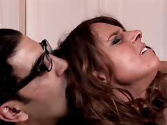 Humilated German Huge Boobs Milf hard anal taken