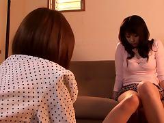 Sexy Japanese Teen Chihiro Akino Solo Masturbation with Vibrating Toy