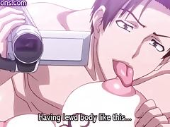 Anime whore gets mouth fucked