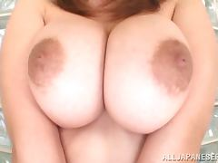 Awesome POV Titjob By Hugely Breasted Japanese Rin Yunoki