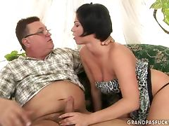 Old and Young, Blowjob, Close Up, Couple, Doggystyle, Fat