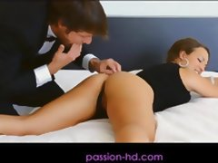 Passion HD Masked Beauty Fucked In Wet Pussy