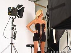 Beauty, Backstage, Beauty, Blonde, Fake Tits, Model