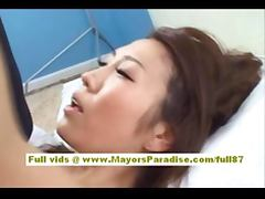 Shiori Tsukimi Japanese office worker likes hard sex
