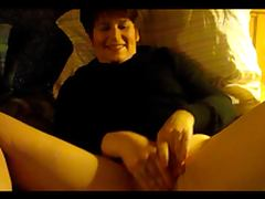 Wife in a fun litte blowjob facial masturbation clip