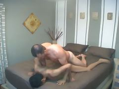 Gay couple fuck amateur style
