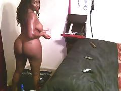 mature ebony on webcam