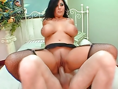 Hot Busty Curvy Latin Babe Banging