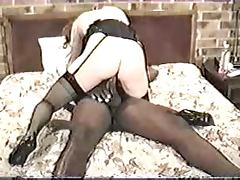 Vintage Wife Enjoys An Interracial Threesome