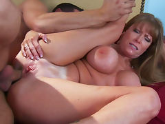 Danny Mountain penetrated slender beauty Darla Krane
