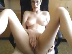 Glasses, Amateur, Glasses, Nude, Webcam