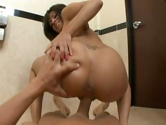 Hardcore bathroom fuck with vanessa leon
