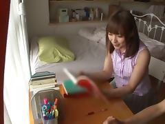 Hot Yukiko Suo blows a dick and gets her Asian pussy fucked