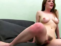 Casting amateur fucked by porn agents cock