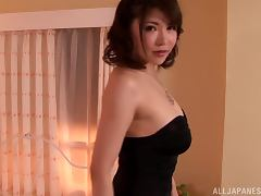 Hot POV session with a lusty Japanese hun