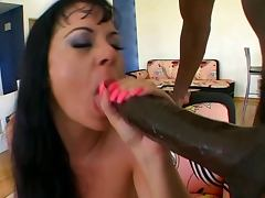 Jewel DeNyle takes on Lexington Steele