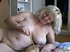 Mom and Boy, Blonde, Blowjob, Brunette, Fat, Granny