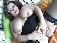 Big Clit, Big Clit, Big Tits, Boobs, Brunette, Chubby