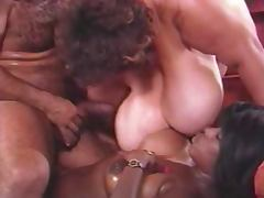Ebony Ayes And Ron Jeremy