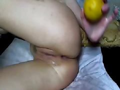 Rus Homemade DOUBLE Anal FISTING Private 04